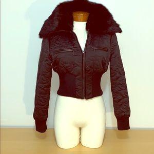 Bebe Puffy Crop Jacket